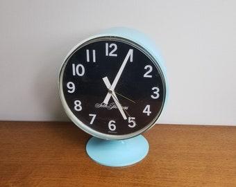 Mid Century Seth Thomas Desk Table Clock