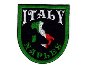 Italy naples patch crest for italy Iron/Sew on Patch #009