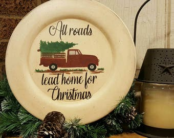 Red Truck - All roads lead home for Christmas