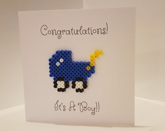 It's A Boy Card, New Baby Boy Card