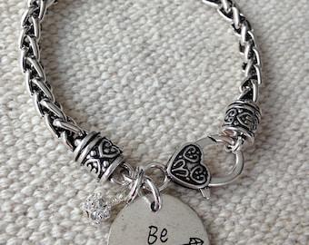 Be fierce bracelet, bracelet, strong