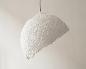 Modern Ceiling Light Ceiling Lamp Modern Pendant Light Hanging Lamp Rustic Lighting Paper Lamp Shade Paper Mache Lamp Globe Blanco White