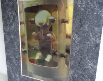 "The X Files 'The Erlenmeyer Flask"" Foil Chromart Print"