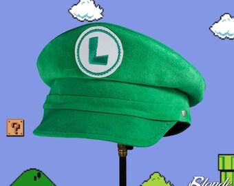SALE! Luigi Inspired Plumber Cap
