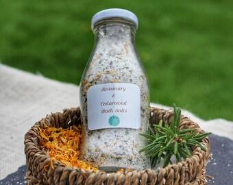 Bath Salts Rosemary & Cedarwood