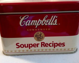 Campbell's Souper Recipes Tin