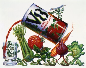 Vegetable Art | V8 | Surreal | Fine Art Giclee Print
