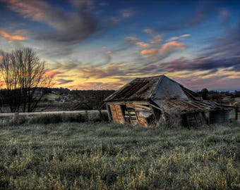 Decaying Cottage Fine Art Print