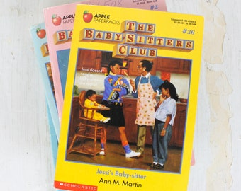 Babysitters Club Lot of 4 Books by Ann M. Martin