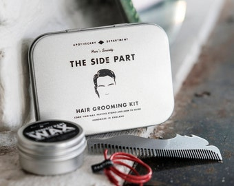 The Side Part Hair Styling Kit