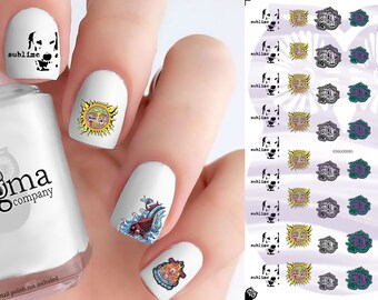 Sublime Nail Decals (Set of 50)