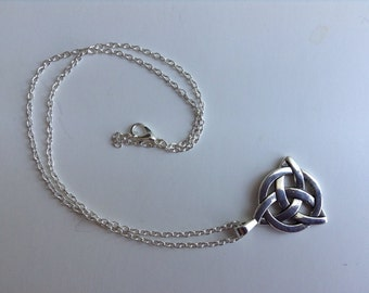 Celtic Knot Necklace, Fathers Day Gift