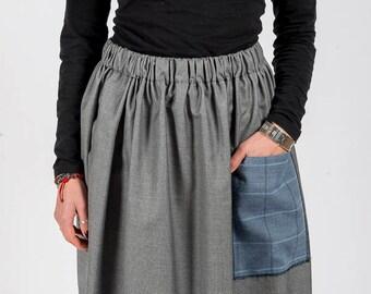 Skirt MoD. SAGE/Grey
