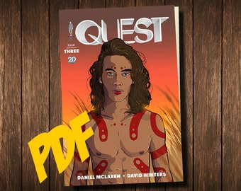 QUEST ISSUE 3 Digital Comicbook