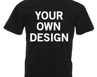 Charity fundraiser personalised t-shirt own design
