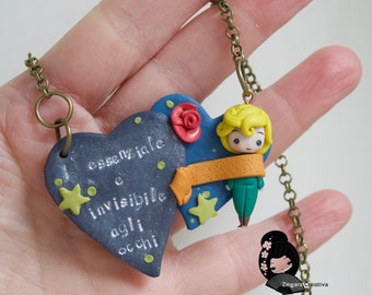 necklace  / fimo / polymerclay / clay