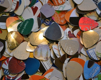 Upcycle Guitar Picks: You choose the quantity that you want!