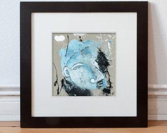 Portrait face picture 15/15 cm (5.9/5.9 inch)