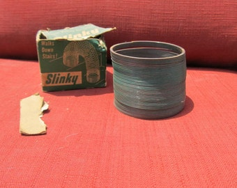 Father's Day, Toy Collectors gift; Slinky Toy; original box; 1950's REAL DEAL