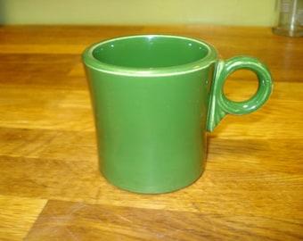 Fiestaware Forest Green Tom & Jerry Mug