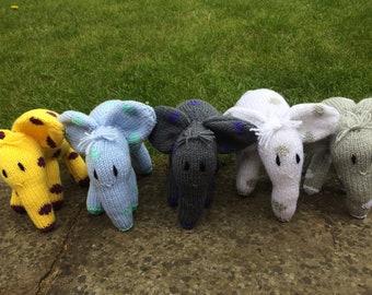 Stuffed Spotty Elephant