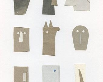 Mascaras Print