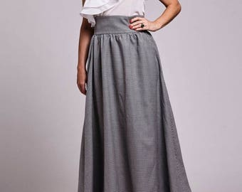 Dramatic Long Skirt