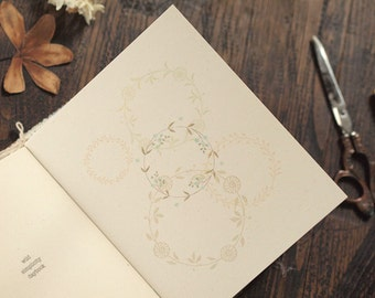Wild Simplicity Daybook-Blank Booklets, Midori-style, inserts, recycled, natural, handmade