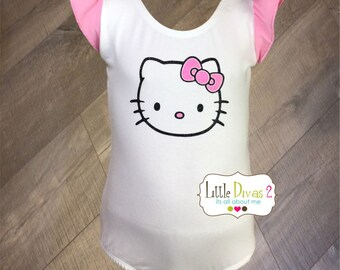 Hello Kitty - Flutter Sleeve Leotard-Children's