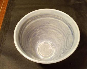 Wheel thrown vase