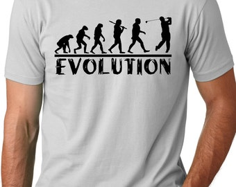 Golf Evolution funny T shirt golfer Humor Golf player gifts funny golf players shirt Golf evolution shirts Gifts for golfers Gifts for men