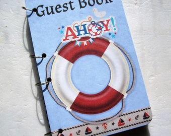Nautical Guest Book