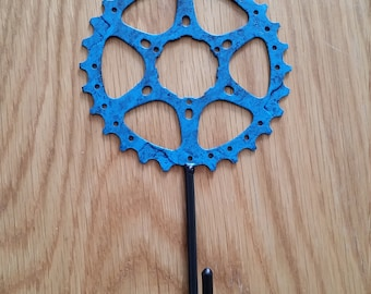 large bicycle gear hook, great for stowing your gear