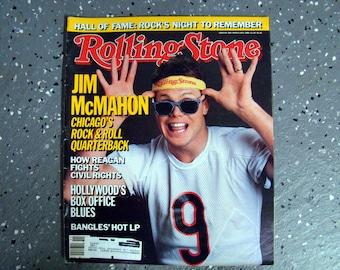 Jim McMahon - Rolling Stone Magazine Issue# 469 - 1986