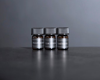 Natural Perfume Oil // SAMPLE SET // Choose Three