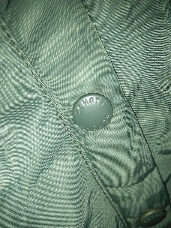 Schott Flight Army Rare Original Parka NYC Jacket Vintage dqwxtpaq