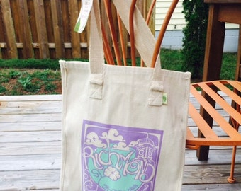 Richmond Grow Your Own Roots Tote - Lilac