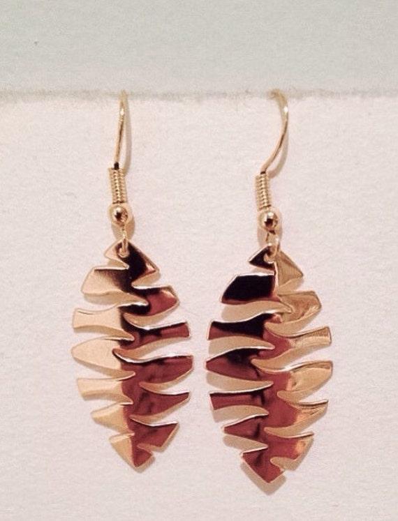 "Earring ""Autumn Leaf"""