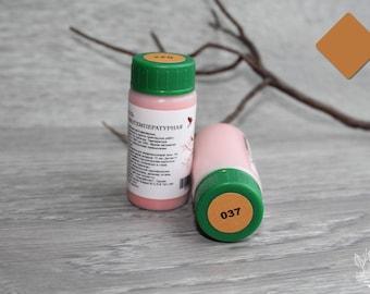 The low temperature enamel. Orange (037)