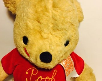 Vintage Winnie the Pooh plush 1960s California stuffed toys