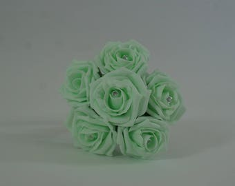 Wedding Posy - Perfect for Bridesmaids ( Light Mint )