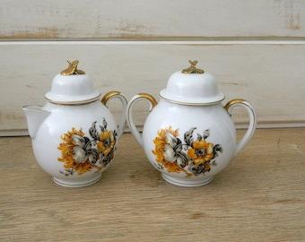 Craftsman China Sugar and Creamer Set - Eggshell Collection - No. 252