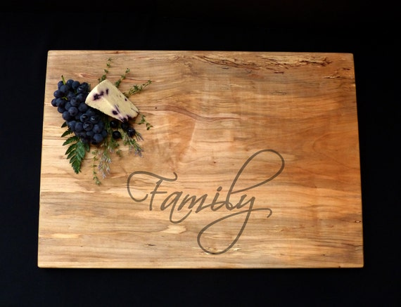 Personalized Xlarge Cutting Board