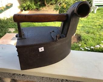 Iron cast iron, vintage
