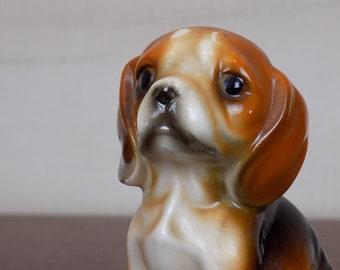 Vintage Hound Dog Puppy Figurine