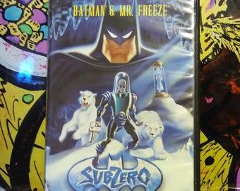 Batman & Mr. Freeze - Subzero VHS
