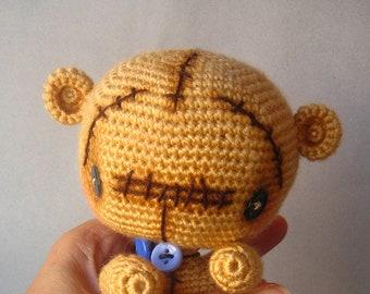 Ginger Crochet Amigurumi Teddy Bear