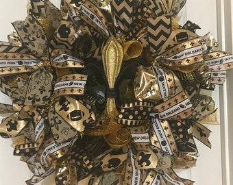 New Orleans Saints Wreaths