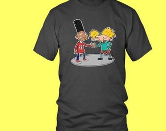 Hey Arnold & Gerald Crewneck T-shirt