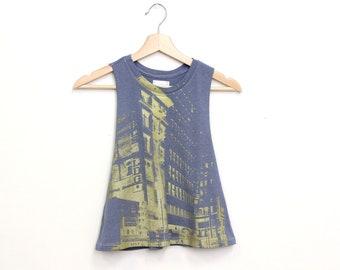 Urban Streetwear / Street wear / Downtown Architecture / LA Shirt / Hip Hop Fashion / Street Art Clothing / Los Angeles / DTLA / Broadway